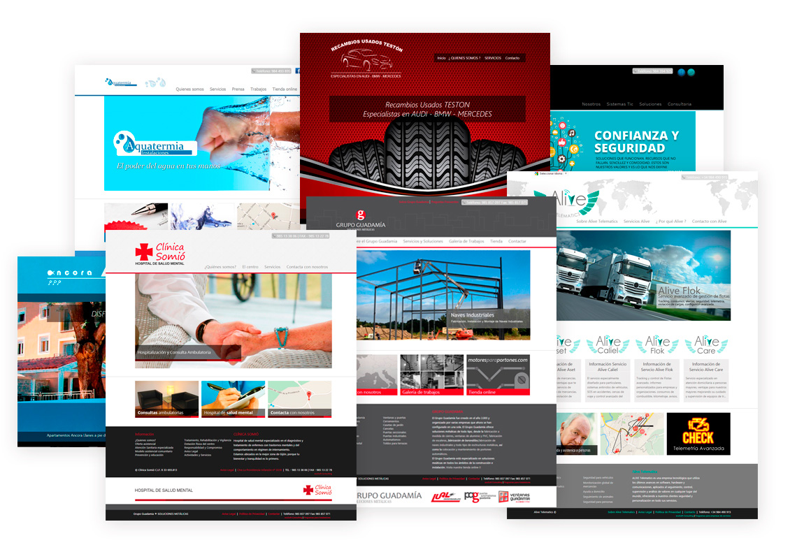 webs de empresa
